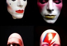 David Bowie life masks created by artist Mark Wardel, thanks for your amazing feedback!