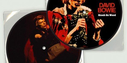 The 40th Anniversary picture disc of 'Knock On Wood' is out now!