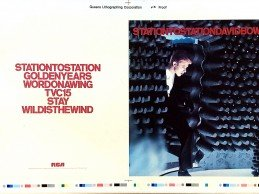 Win an Uncropped Repro Colour Proof slick of STATION TO STATION album!