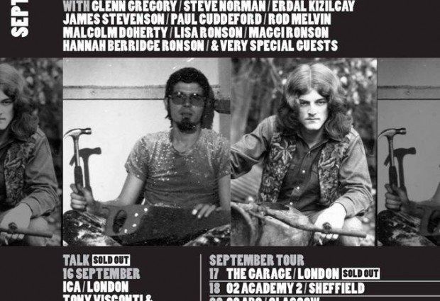 'The Man Who Sold The World' gigs start in London on Wednesday!