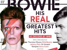 David Bowie 10 page feature in this weeks NME Magazine!