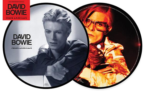 "David Bowie announces ""Young Americans"" 40th anniversary 7″ picture disc"