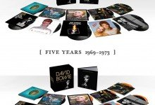 DavidBowie.Com announce 'FIVE YEARS' 1969 – 1973 box set due September 25th!