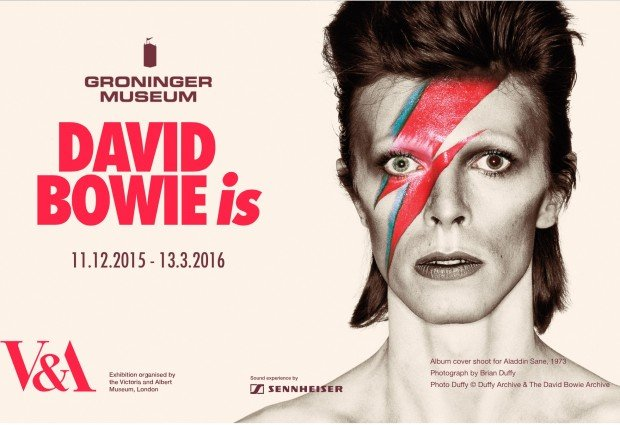 Tickets for the David Bowie Is exhibition at the Groninger Museum, Netherlands go on sale 28th August