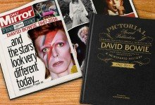 Competition to win a Personalised David Bowie Life Book