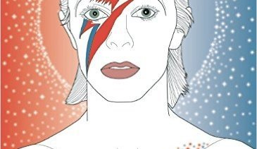 We're giving away 5 copies of David Bowie: Starman: A Colouring Book