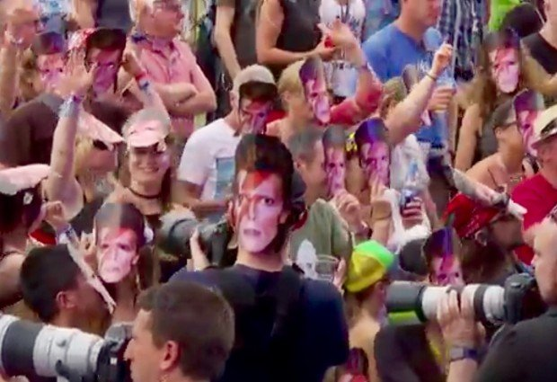 Isle of Wight Festival 2016 – David Bowie Tribute