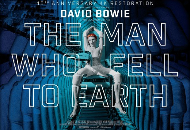 The Man Who Fell To Earth 4K Restoration Blu-ray/DVD Out Now!