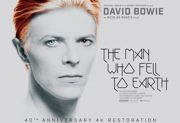 The Man Who Fell To Earth 4K restoration hits UK cinemas on September 9th, click for dates and DVD pre-order