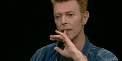 David Bowie and Julian Schnabel talk 'Basquiat'