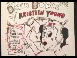 She Can Do That (david bowie demo w/kristeen young vocals)