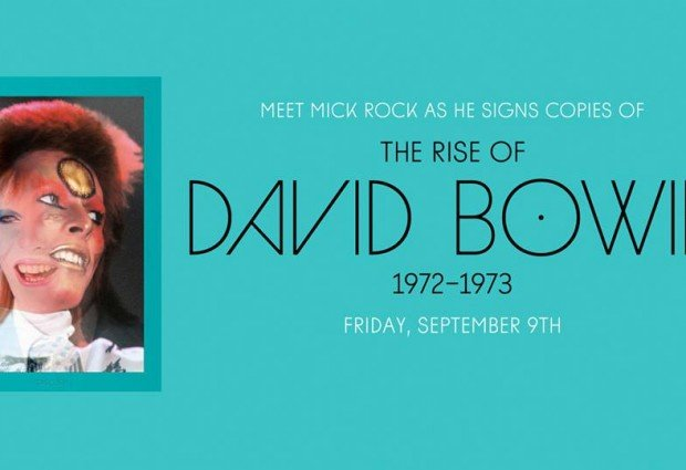 Win a signed copy of The Rise of David Bowie 1972-1973 by Mick Rock!