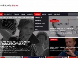 David Bowie News – Website User Guide