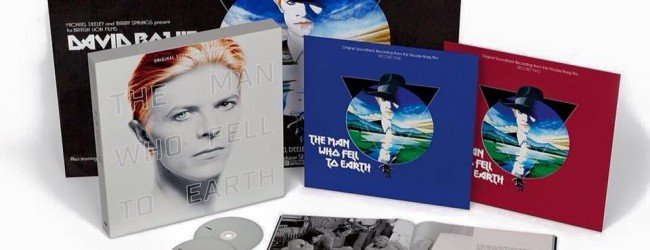 The Man Who Fell To Earth Soundtrack is out now!