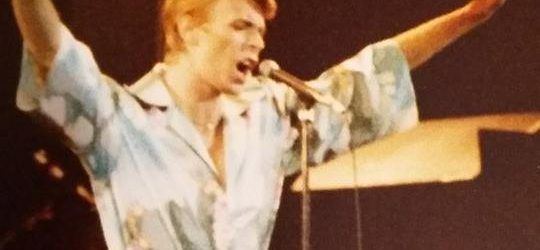 David Bowie unseen pictures from Ahoy, Rotterdam (1978)