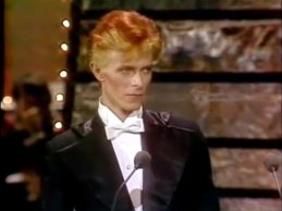 David Bowie at the 1975 Grammys (HQ)