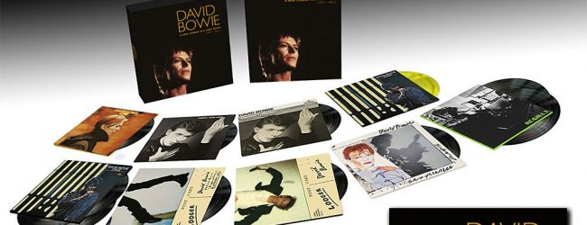 PRICE DROP! David Bowie's A New Career In A New Town (1977 – 1982) Box Set Down To £64.99