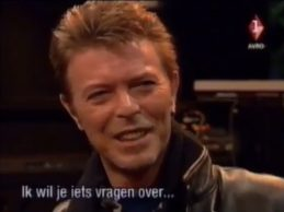 David Bowie interviewed by Karel de Graaf, January 26 1996 (part 1 of 2)