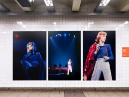 Video tour of 'David Bowie Is Here' Subway Exhibition @ Broadway & Lafayette Subway Station (4/18/18)