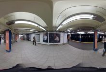 360° Virtual Reality | David Bowie Is | Broadway and Lafayette Station Domination
