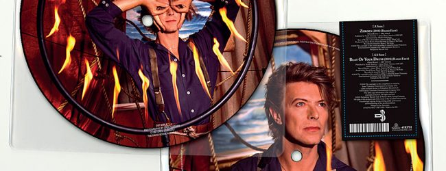 David Bowie 'Zeroes' picture disc, available to pre-order now!