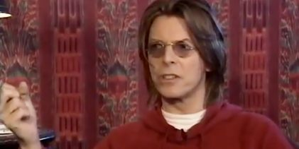 David Bowie interview for Top of the Pops 2 special (1999)