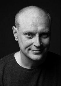 Jonathan Barnbrook portrayed in Berlin by © Marc Eckardt (2010)