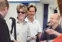 David Bowie – Private Footage – Arriving At Southampton From The QE2 for His 2002 UK Tour