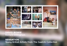 David Bowie narrates the audio tour of the Brooklyn Museum of Art's presentation of SENSATION – RICHARD BILLINGHAM untitled (1993-5)