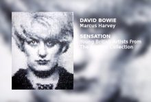 David Bowie narrates the audio tour of the Brooklyn Museum of Art's presentation of SENSATION – MARCUS HARVEY MYRA (1991)