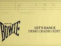David Bowie – Let's Dance, Demo (Radio Edit) [Official Audio]