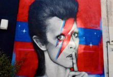 New David Bowie Mural in London!