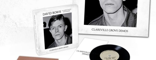 Early David Bowie demos recorded in 1969 are being released in a new 3×7″ box set called Clareville Grove Demos, out this Spring via Parlophone