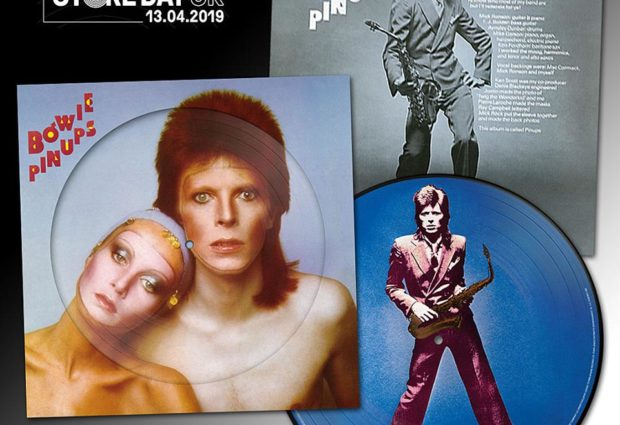 Parlophone issuing David Bowie's Pin Ups album on picture disc for Record Store Day 2019!