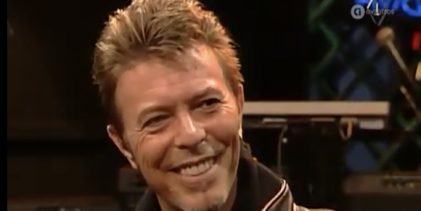 David Bowie interview & 3 songs on Dutch TV show 'Karel' (1996)