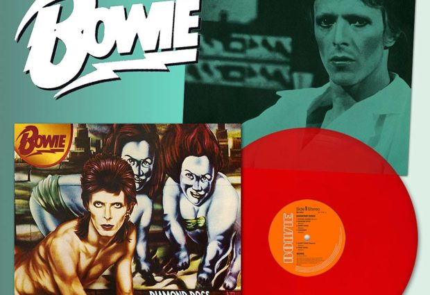 Diamond Dogs 45th Anniversary red vinyl due May 24th
