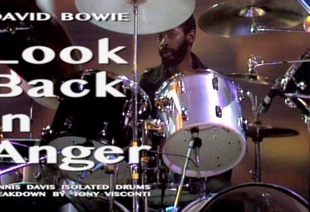 David Bowie – Look Back in Anger – Dennis Davis Isolated Drums Breakdown by Tony Visconti
